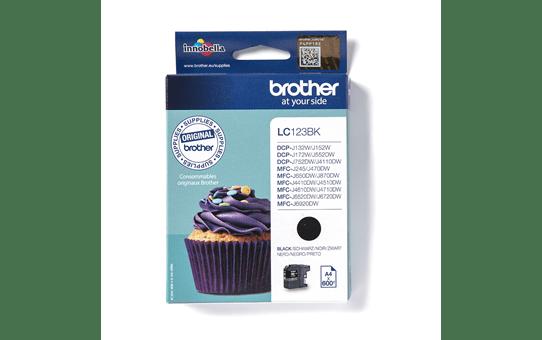 Brother LC123BK cartouche d'encre noir