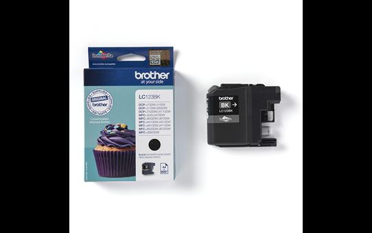 Originali Brother LC123BK rašalo kasetė – juodos spalvos 3