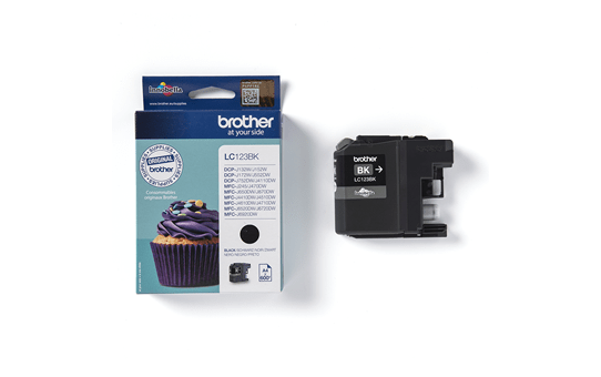 Brother LC123BK Cartuccia inkjet originale - nero 3