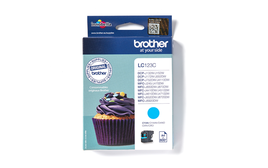 Brother LC123C cartouche d'encre cyan