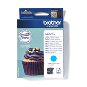 LC123C Brother genuine ink cartridge pack front image