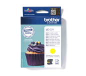 LC123Y Brother genuine ink cartridge pack front image