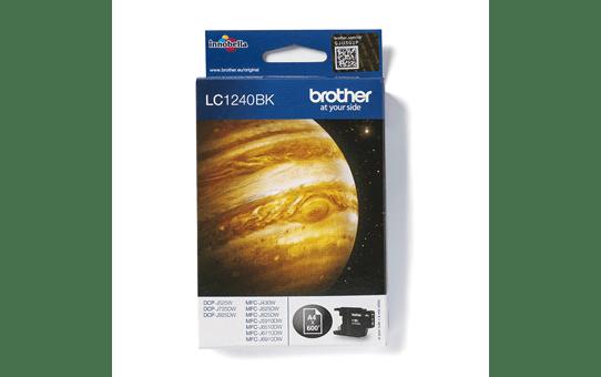 Original Brother LC1240BK høykapasitet blekkpatron – sort