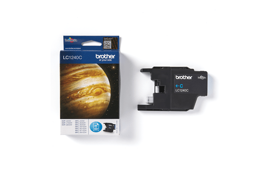 Originele Brother LC-1240C cyaan inktcartridge 3