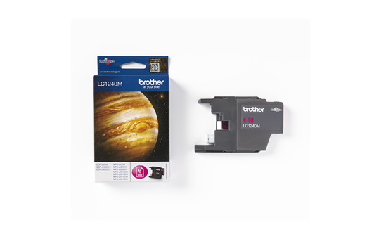 Genuine Brother LC1240M Ink Cartridge – Magenta 3