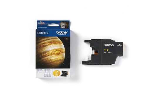 Originele Brother LC-1240Y gele inktcartridge  3