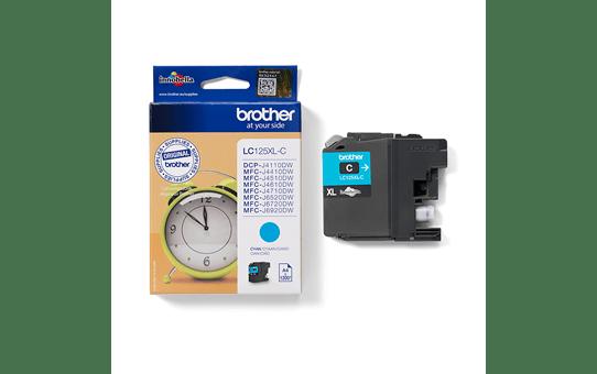 Originele Brother LC-125XLC cyaan inktcartridge 3