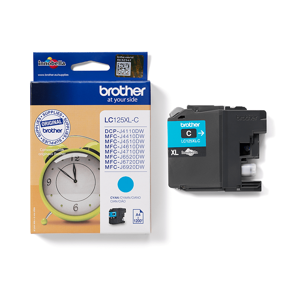 Brother LC125XLC cartouche d'encre cyan