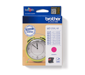 Brother LC125XLM cartouche d'encre magenta