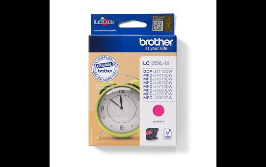 Originele Brother LC-125XLM magenta inktcartridge