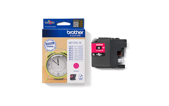 Genuine Brother LC125XLM Ink Cartridge – Magenta 3