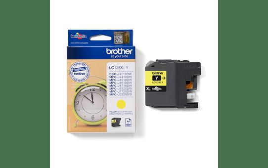 Originele Brother LC-125XLY gele inktcartridge 3