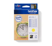Brother LC125XLY cartouche d'encre jaune