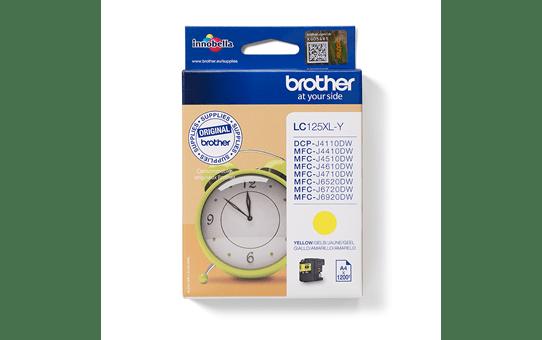 Brother LC125XLY inktpatroon geel
