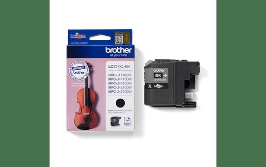 Brother LC567XLBK: оригинальный картридж повышенной емкости с черными чернилами.  2