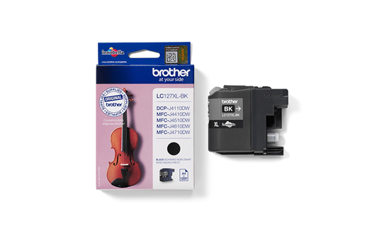 Genuine Brother LC127XLBK High Yield Ink Cartridge – Black  3