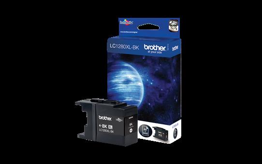 Genuine Brother LC1280XLBK High Yield Ink Cartridge – Black 2
