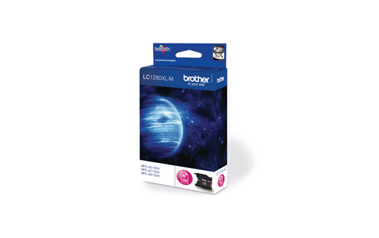 Brother LC1280XLM cartouche d'encre magenta