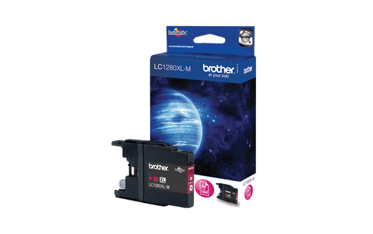 Brother LC1280XLM inktpatroon magenta 2