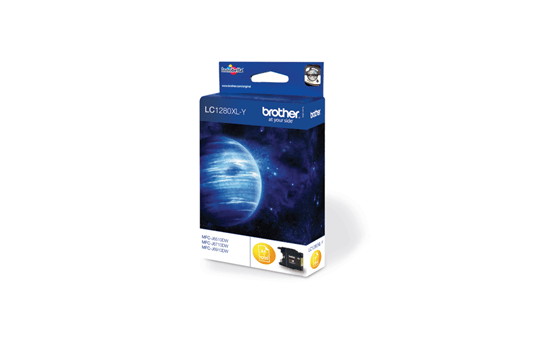 Brother LC-1280XL-Y Tintenpatrone – Gelb 2