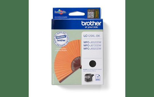Brother LC-129XL-BK Tintenpatrone – Schwarz