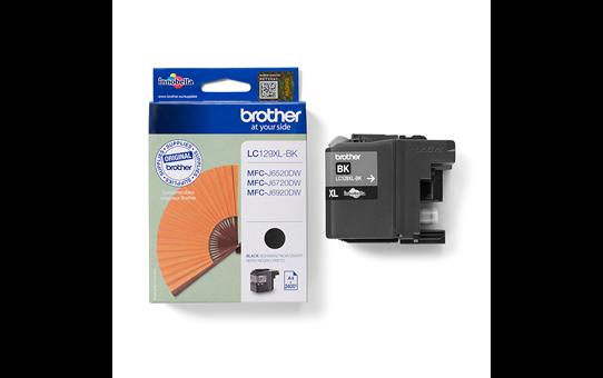 Brother original  LC129XLBK hög kapacitet bläckpatron- svart 3