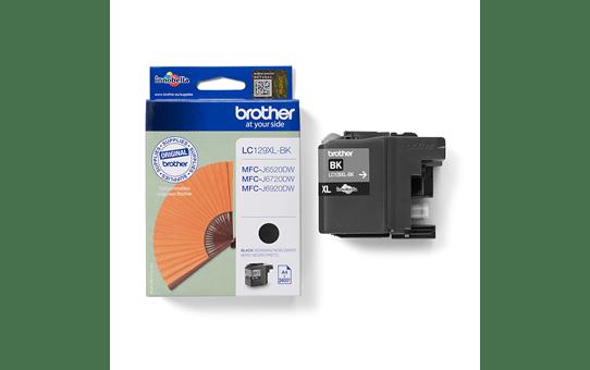 Genuine Brother LC129XLBK High Yield Ink Cartridge – Black 3