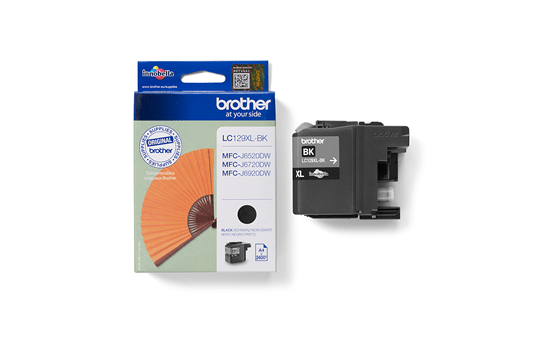 Genuine Brother LC129XLBK High Yield Ink Cartridge – Black  3