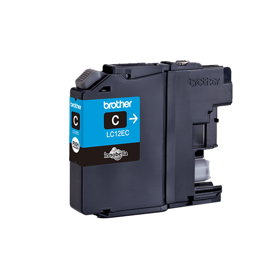 Originele Brother LC-12EC cyaan inktcartridge