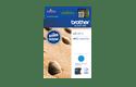 Brother LC-12EC XL-Tintenpatrone – Cyan