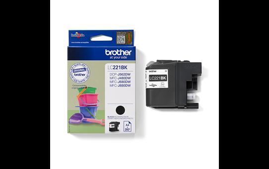 Genuine Brother LC221BK Ink Cartridge – Black 3