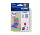 Brother LC221M Cartuccia inkjet originale – magenta