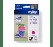 Originele Brother LC-221M magenta inktcartridge