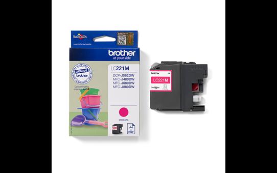 Genuine Brother LC221M Ink Cartridge – Magenta 3
