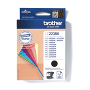 LC223BK  Brother genuine ink cartridge pack front image