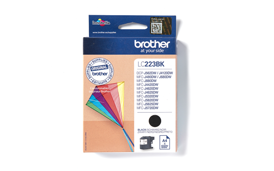 Genuine Brother LC223BK Ink Cartridge – Black