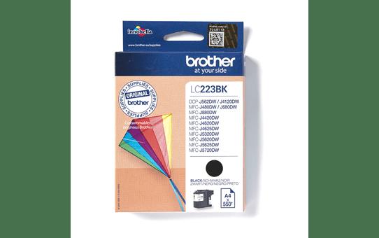 Brother original LC223BK sort blekkpatron