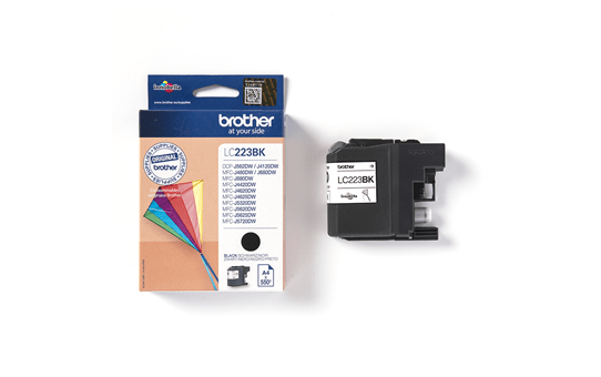 Genuine Brother LC223BK Ink Cartridge – Black 3