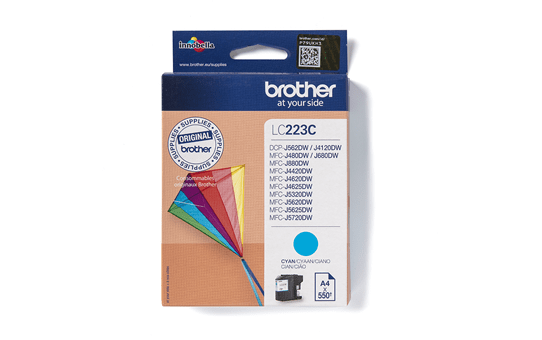 Originele Brother LC-223C cyaan inktcartridge