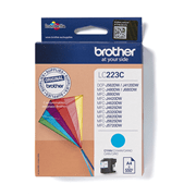 LC223C Brother genuine ink cartridge pack front image