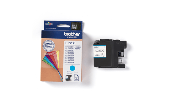 Genuine Brother LC223C Ink Cartridge – Cyan 3