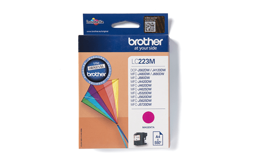 Genuine Brother LC223M Ink Cartridge – Magenta