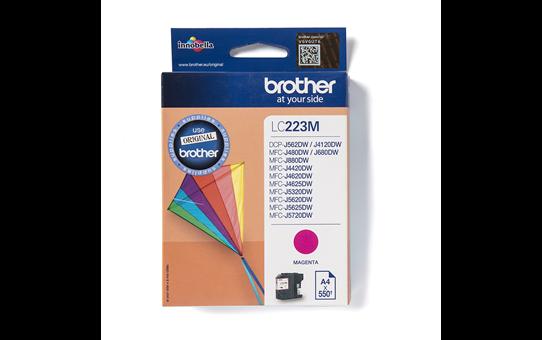 Originalna kartuša Brother LC223M – magenta