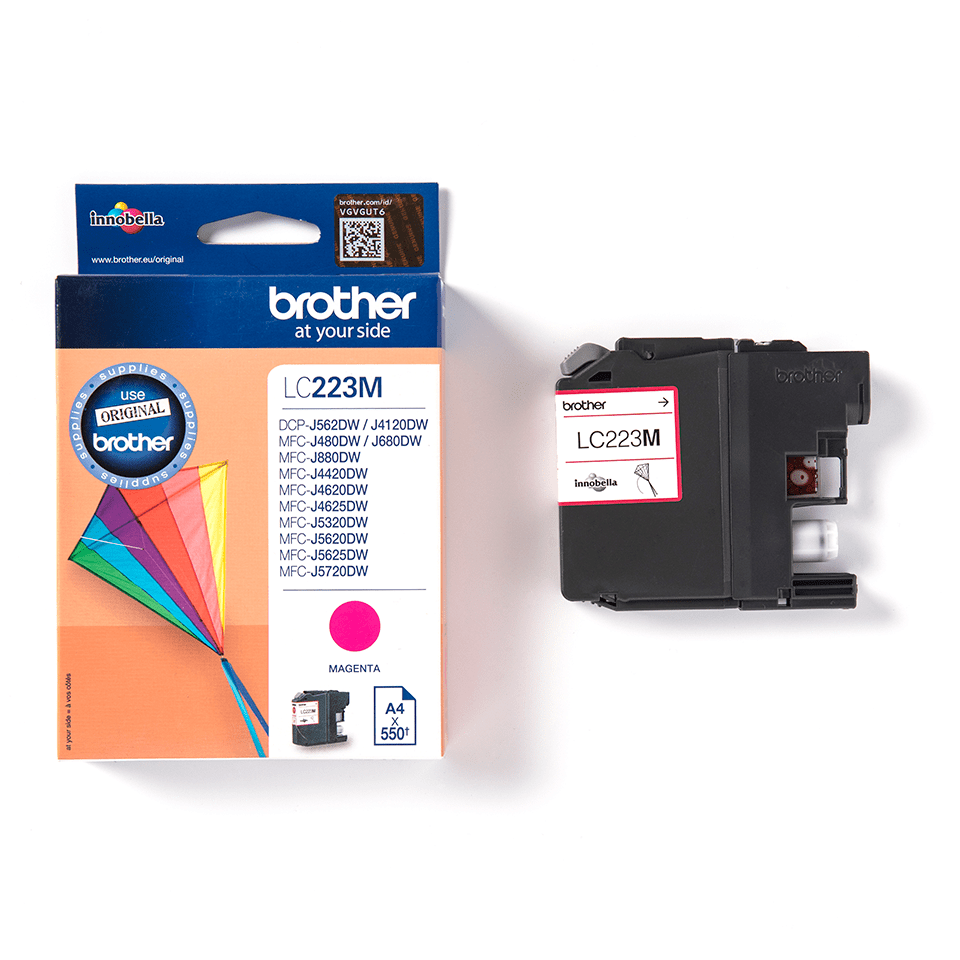 Brother LC223M Cartuccia inkjet originale - magenta 3