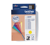 LC223Y Yellow ink cartridge with box