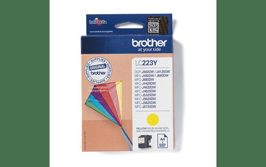 Original LC-223Y Tintenpatrone von Brother – Gelb