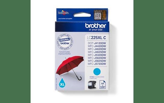 Brother original LC225XLC  bläckpatron – cyan