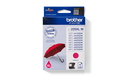 Brother LC225XLM cartouche d'encre magenta