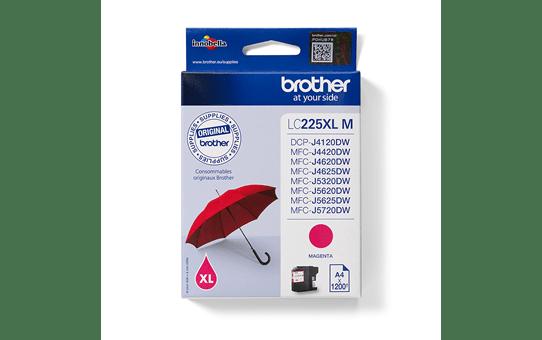 Originální inkoustová kazeta Brother LC225XLM - purpurová