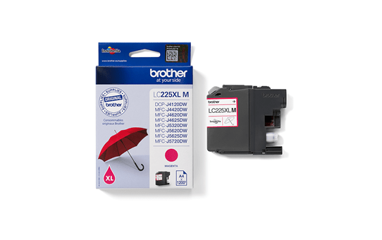 Genuine Brother LC225XLM Ink Cartridge – Magenta 3